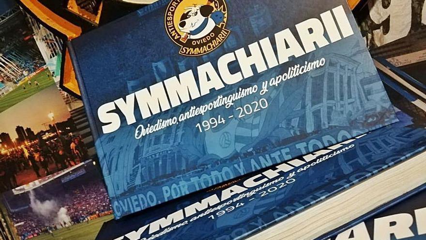 Symmachiarii cuenta en un libro su historia animando al Real Oviedo