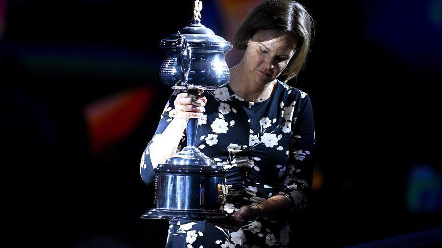 Muguruza cae ante Kenin y se queda a las puertas de ganar el Open de Australia
