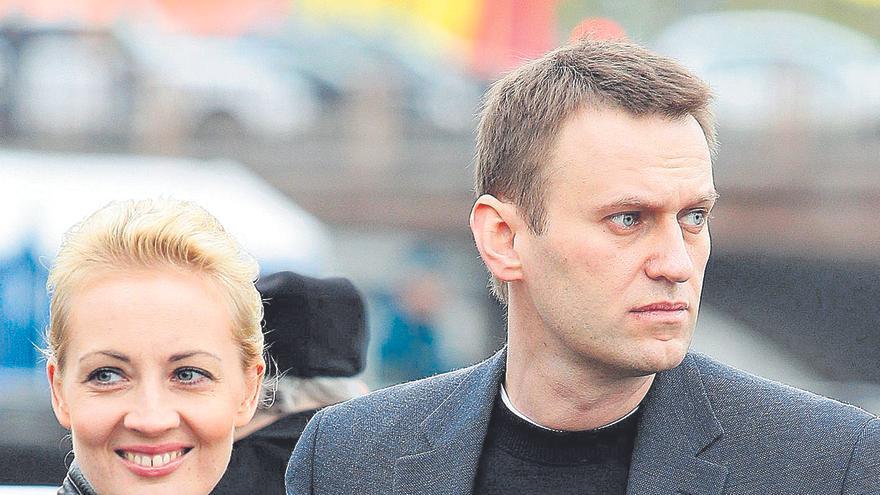 Navalni presenta tres demandas contra la cárcel en la que se halla