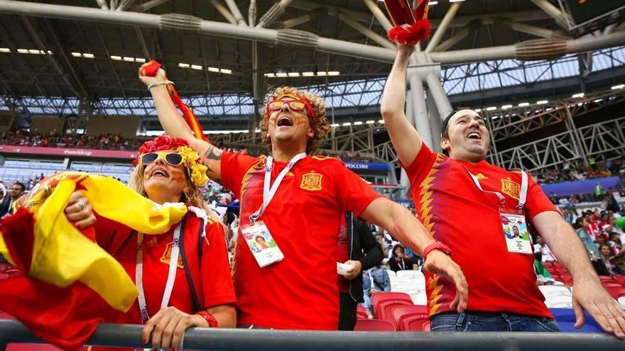 El fútbol de España castiga a Irán (0-1)