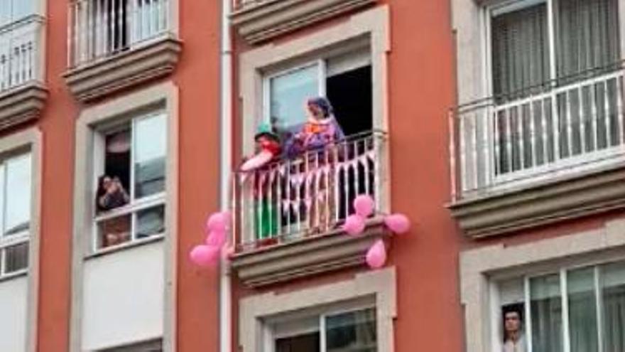 Cumpleaños confinados en Morazo