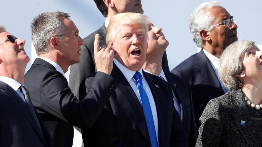 Trump exige a los aliados más dinero para la OTAN