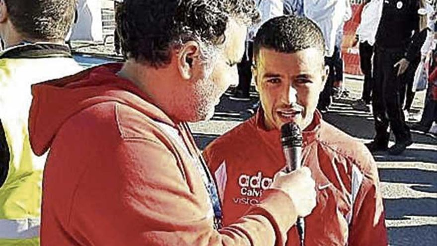 Hamid Ben Daoud es segundo en el Nacional de maratón y logra la mínima para Tokio