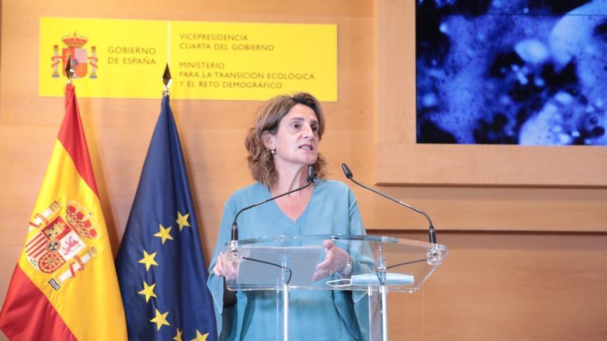 """Teresa Ribera: """"Hay que aliviar la factura de las familias y la industria"""""""