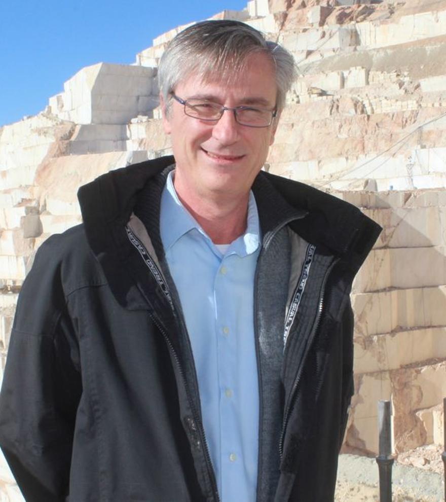 Martín Pomares, presidente del Colegio.