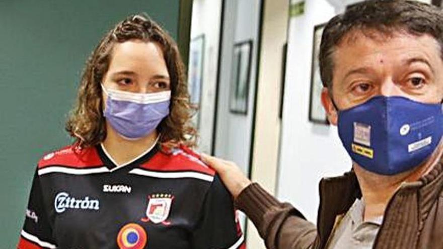 Mili Carrera cumple un sueño