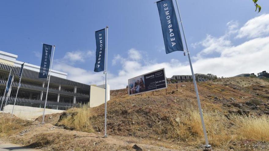La construcción de viviendas repunta en los alrededores del hospital Negrín