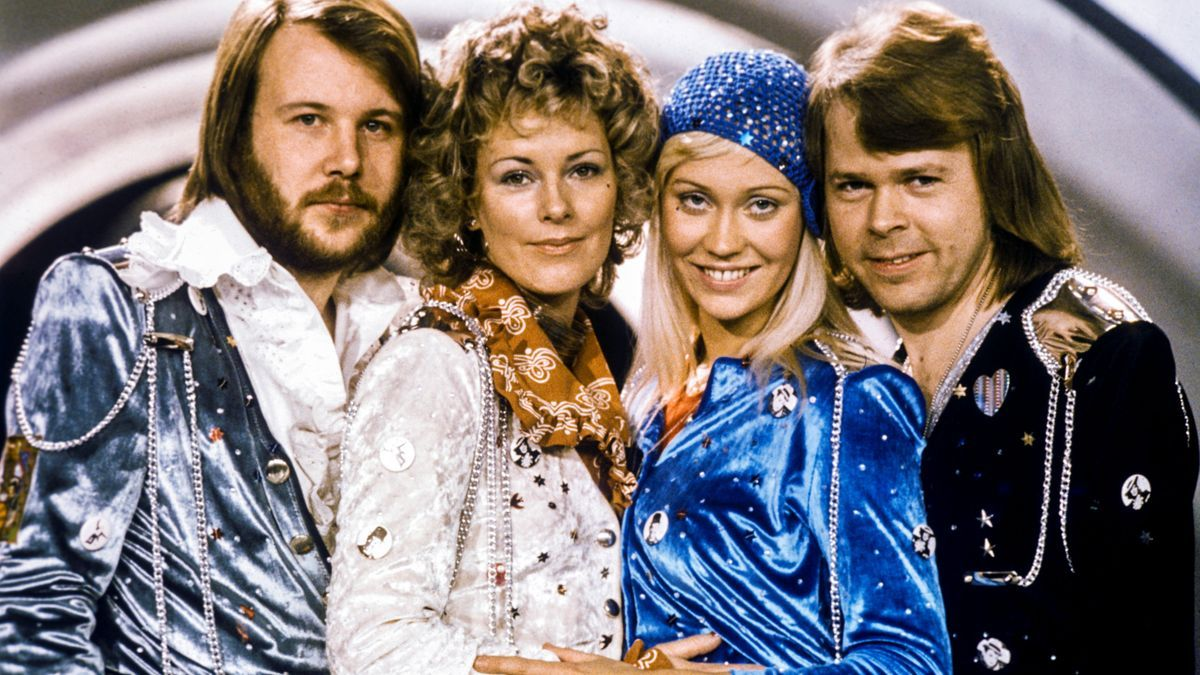 Los cuatro integrantes de Abba, en una imagen de los años 70.