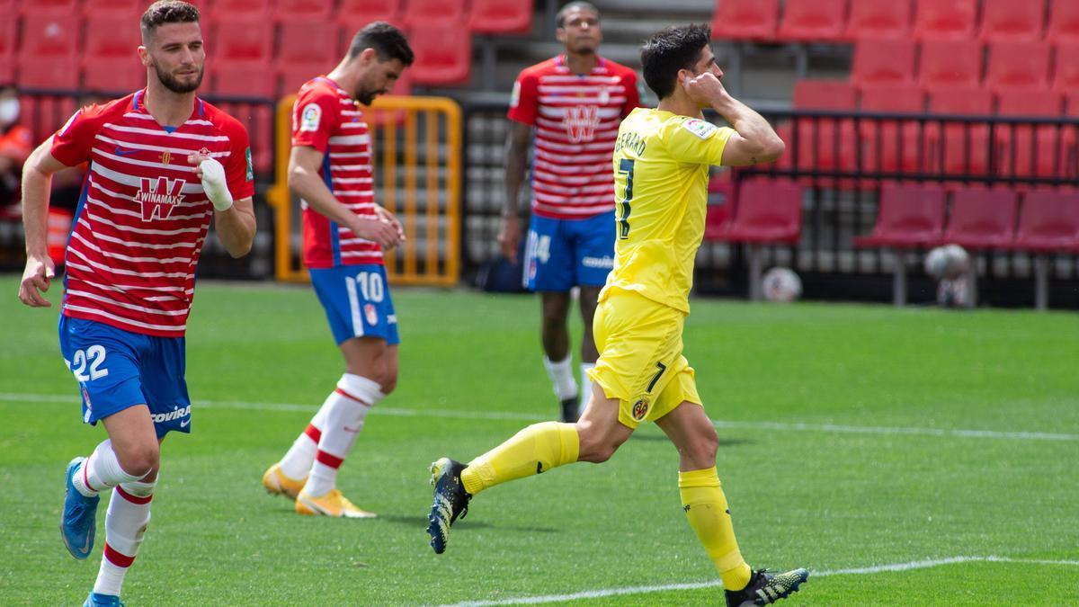 Gerard Moreno festejó gol en Granada hasta en tres ocasiones.