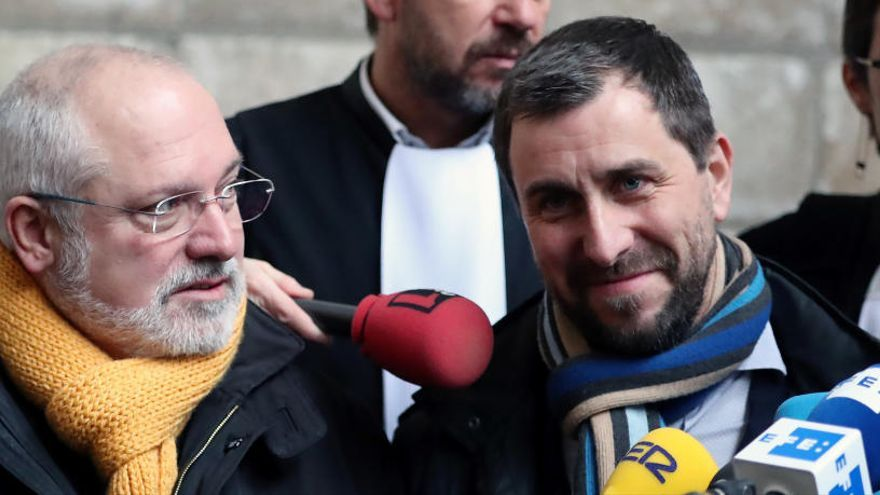 El procés per l'euroordre de Comín i Puig ha estat integrat amb el de Puigdemont