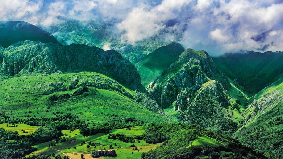 Picos de Europa fue el primer Parque Nacional de España.