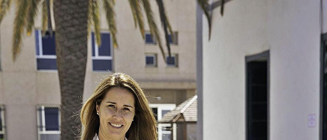 Lola García Martínez, nueva vicepresidenta del Cabildo de Fuerteventura.