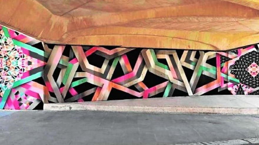 Anulan el proyecto de arte urbano del río para evitar aglomeraciones