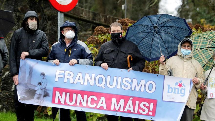 La familia Franco, ausente en Meirás el día de su devolución al Estado