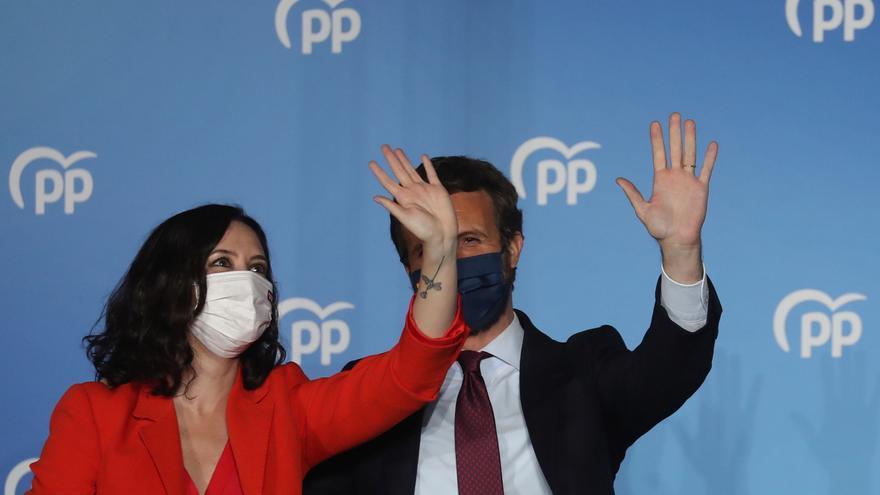 El PP cree que la victoria en Madrid es el primer paso hacia La Moncloa