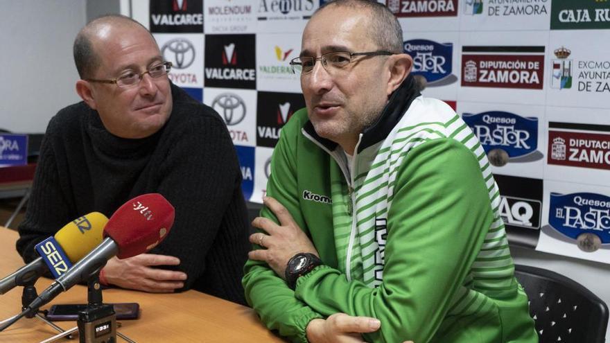 La directiva del CD Zamarat no acepta la dimisión del entrenador