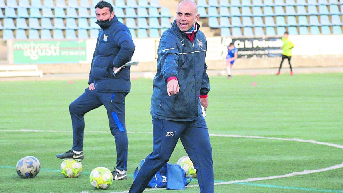 Moisés Hurtado: «M'agraden els reptes i  el que em planteja el Figueres és apassionant»