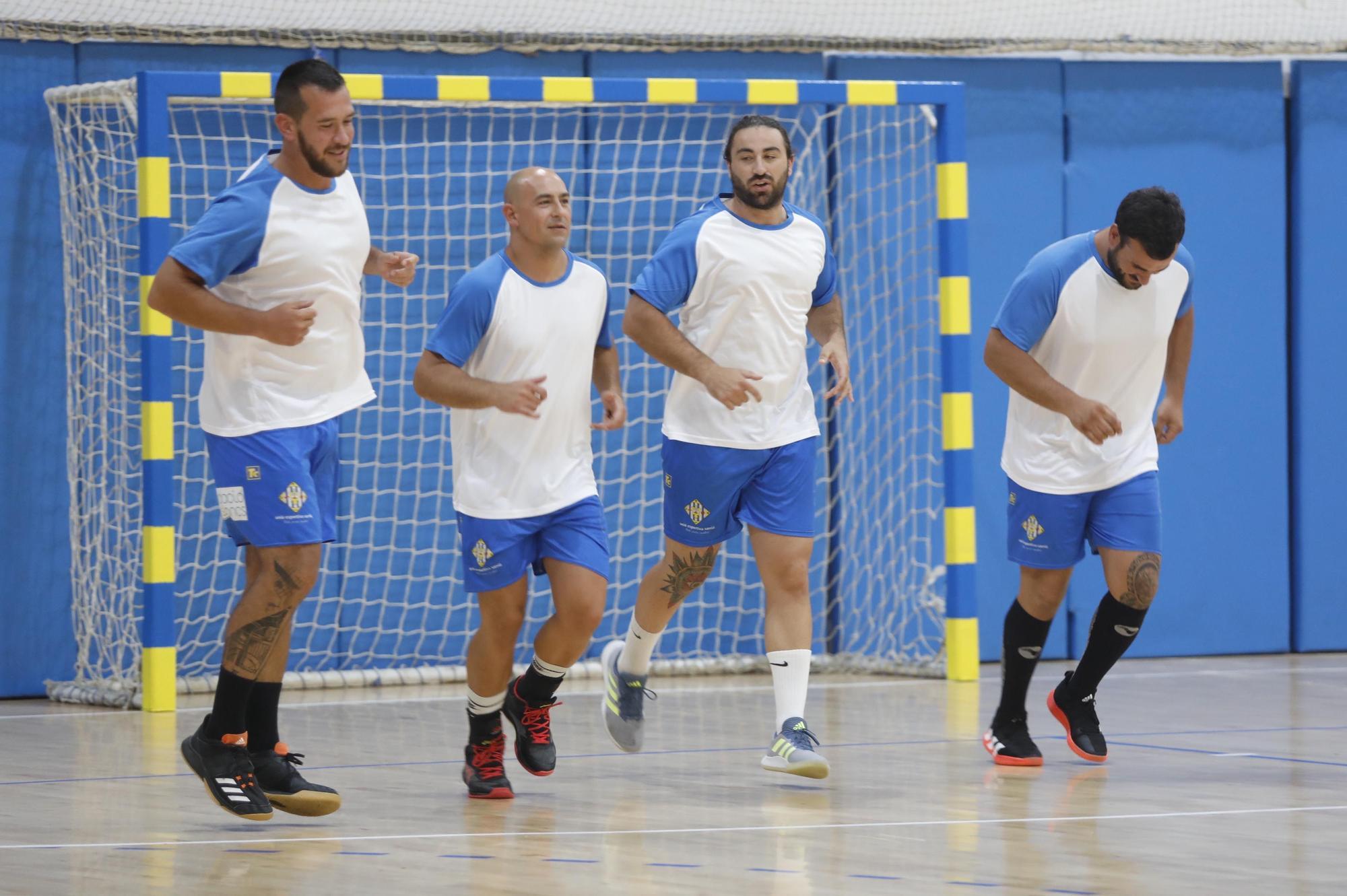 Tret de sortida a la tercera temporada del Sarrià a la Divisió d'Honor Plata