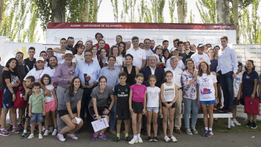 """El Torneo Alumni """"Vicente del Bosque"""" celebra su primera edición en Zamora"""