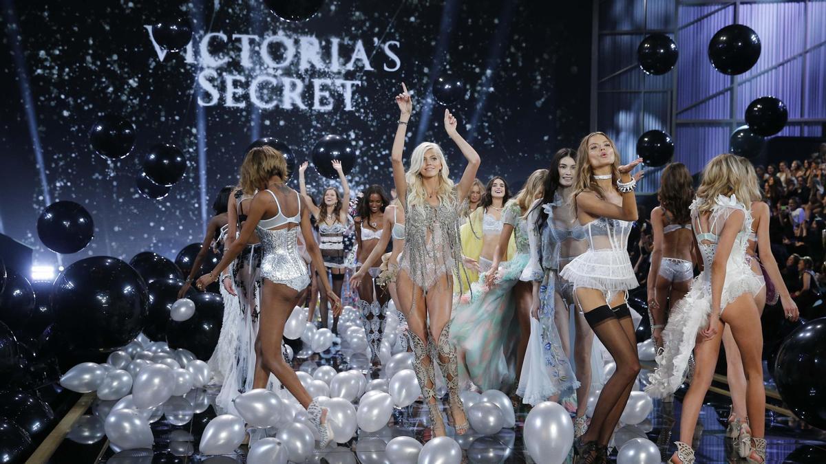 Modelos de Victoria's Secret.