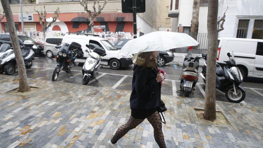 Lluvia y frío para hoy en la Región de Murcia