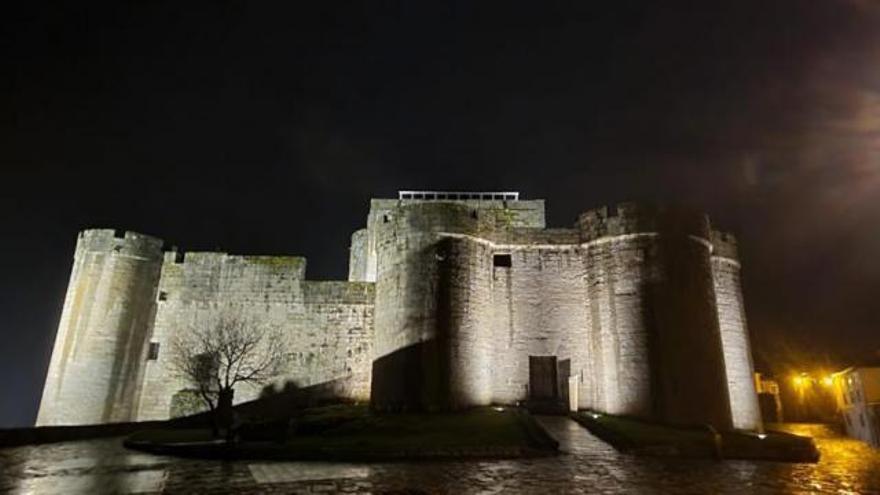 Así es la nueva iluminación de Puebla de Sanabria