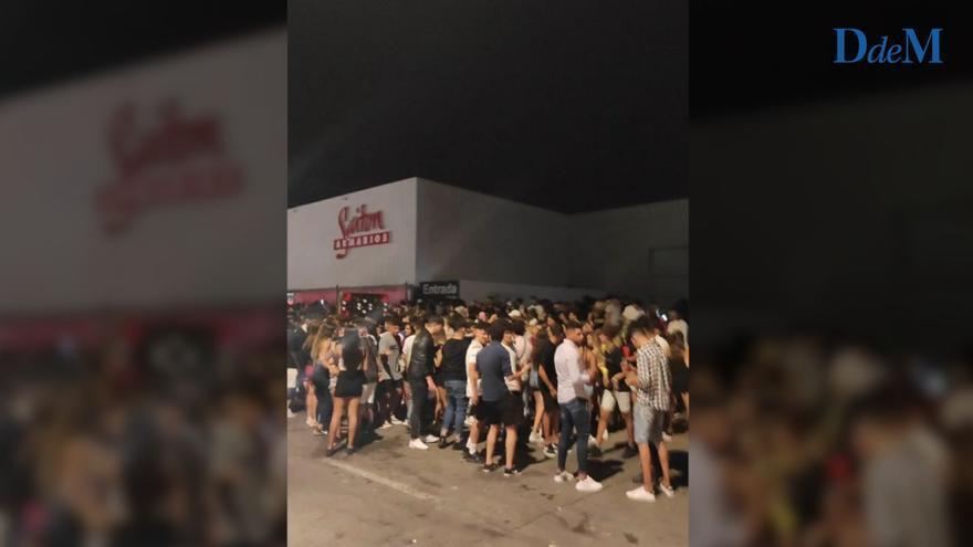 La Policía de Palma ha registrado más de 1.500 multas por botellón en este año