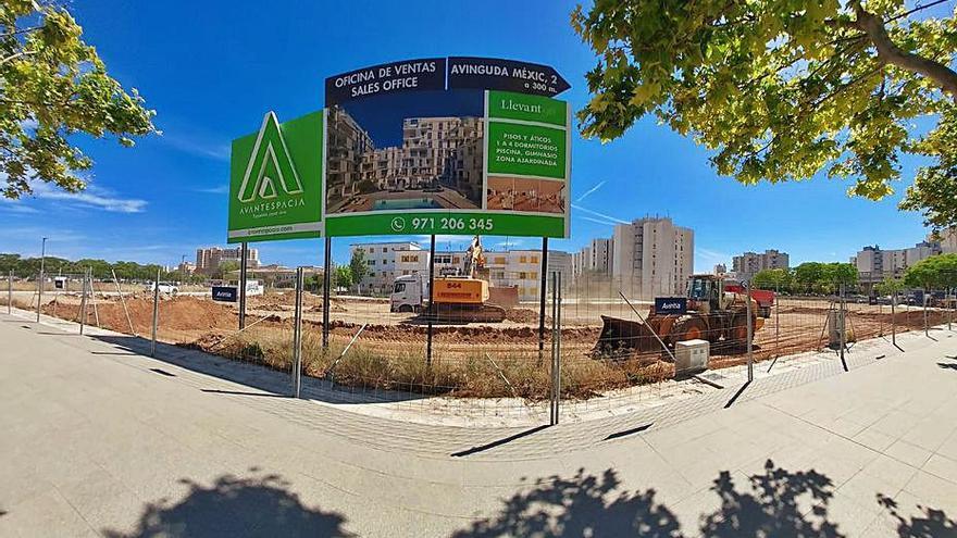 Inician las obras de un nuevo edificio en Nou Llevant