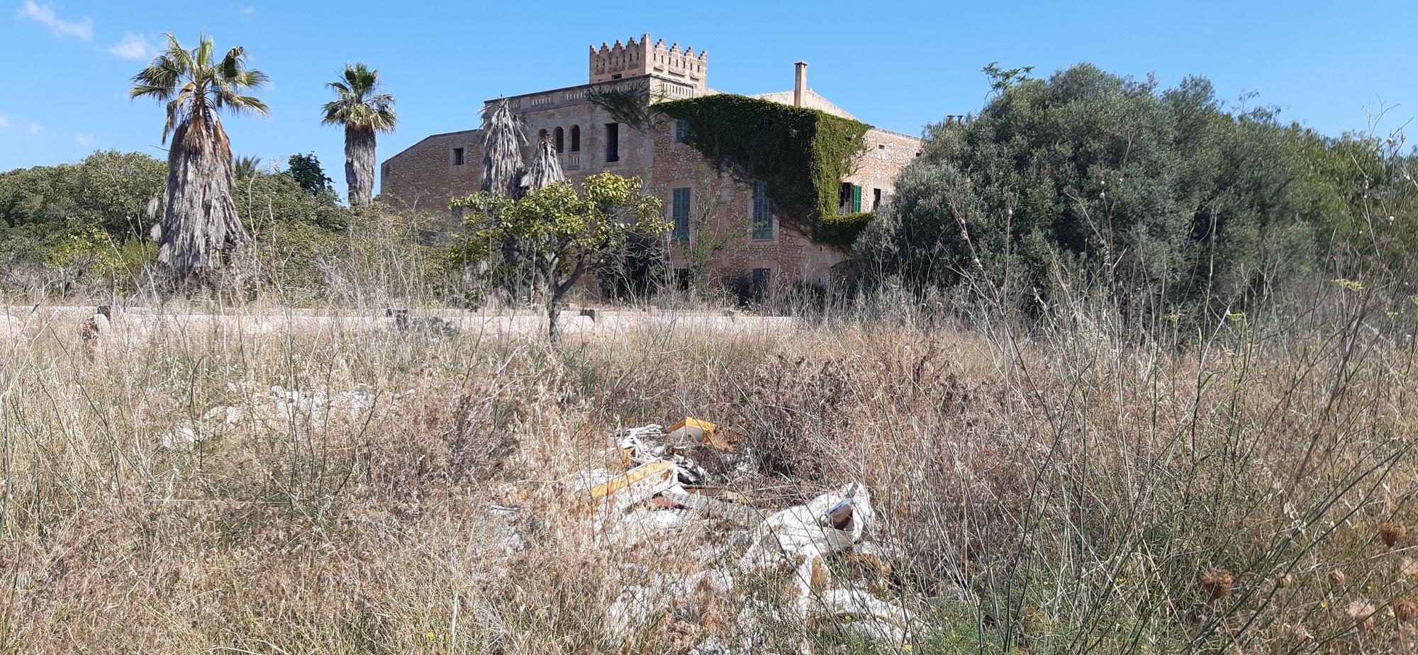 El Ayuntamiento tiene un vertedero ilegal dentro de su 'possessió' Son Reus Vell