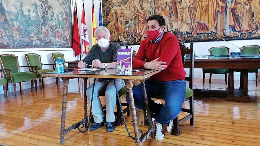 """José Antonio Hidalgo presenta el libro """"Comuneros"""""""
