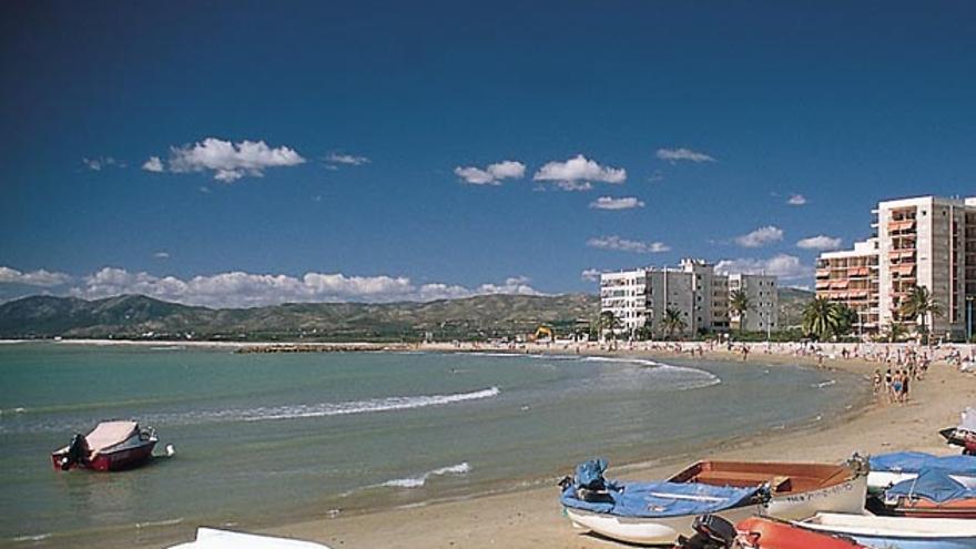 Playa de Torrenostra, en Torreblanca.
