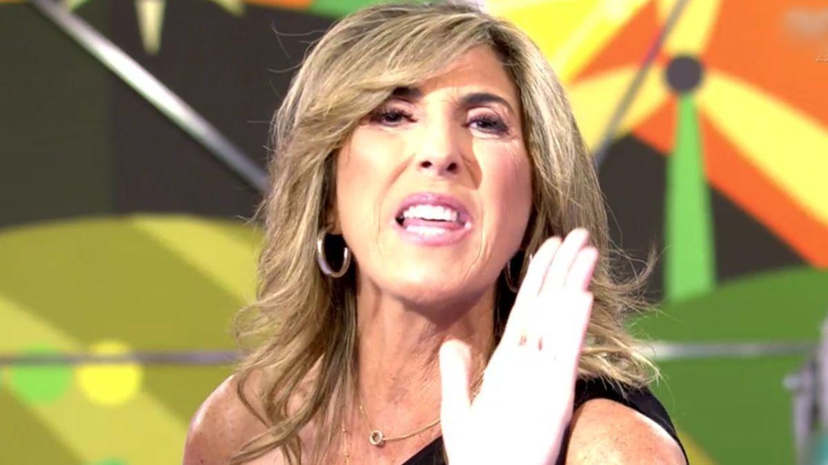 Paz Padilla en 'Sálvame'.