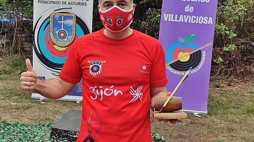 Jairo Valentín Fernández, arquero del Xitia, gana una prueba nacional 3D