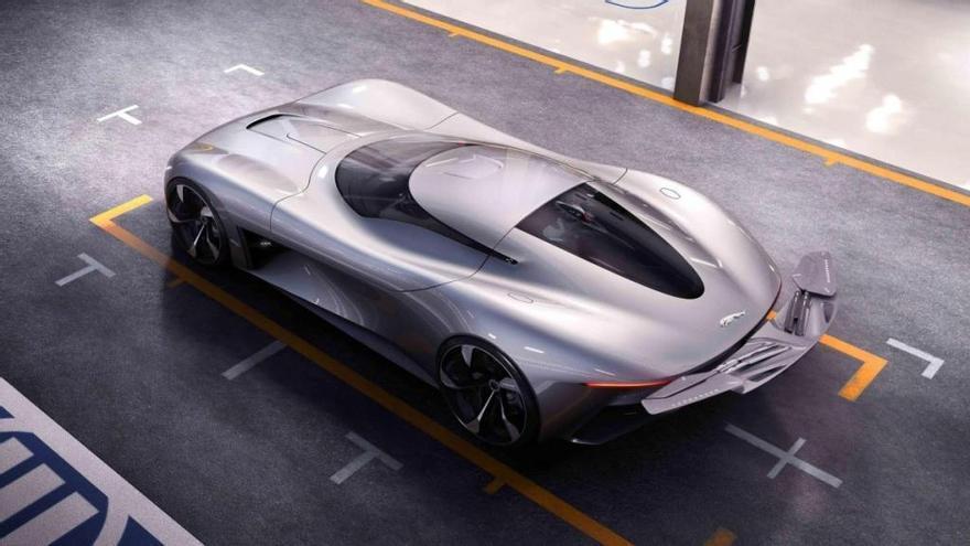 Jaguar Vision GT Coupé: un deportivo eléctrico y virtual de 1020 caballos