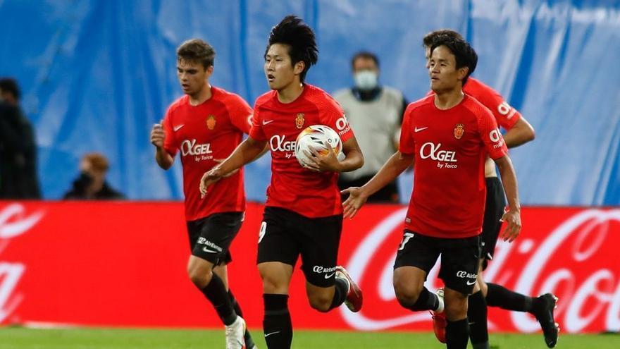 El técnico del Valencia Bordalás explica la salida de Kang In Lee al Mallorca