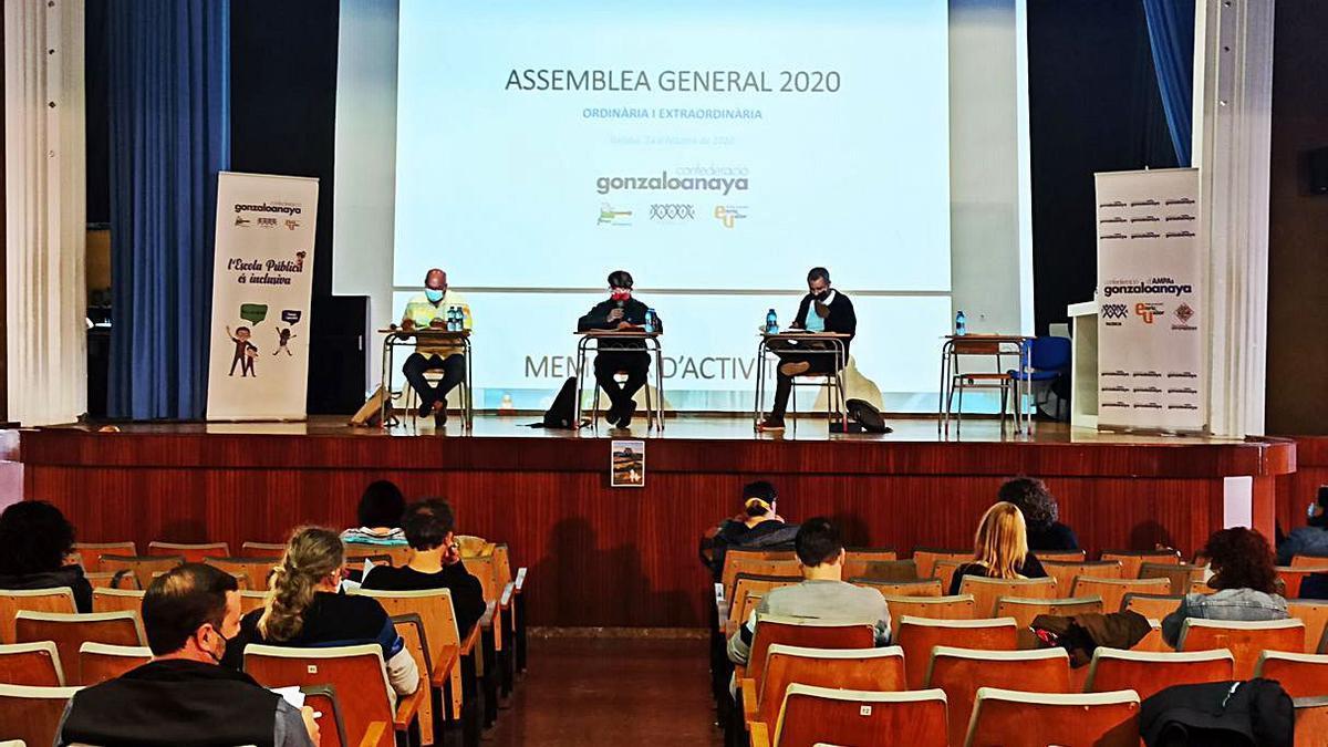 Josep Albiol agafa el testimoni de Màrius Fullana com a nou president de la Confederació Gonzalo Anaya