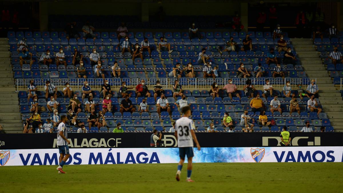 Partido de pretemporada del Málaga CF - Tenerife