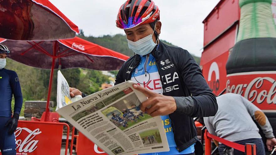 """Todas las sensaciones de Nairo Quintana tras ganar la Vuelta: """"Asturias es especial para mí"""""""