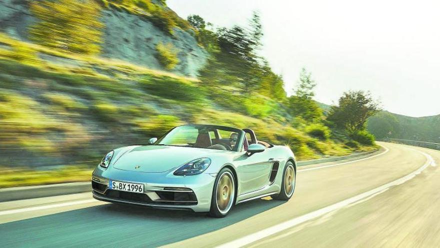 El cuarto de siglo del Porsche Boxster