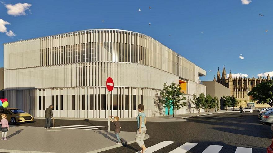 La nueva sede del SOCIB será la primera pieza del polo marino del Moll Vell