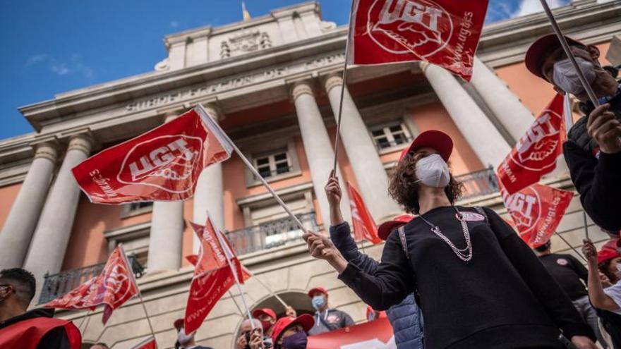 Los sindicatos retoman las calles y exigen la derogación ya de la reforma laboral