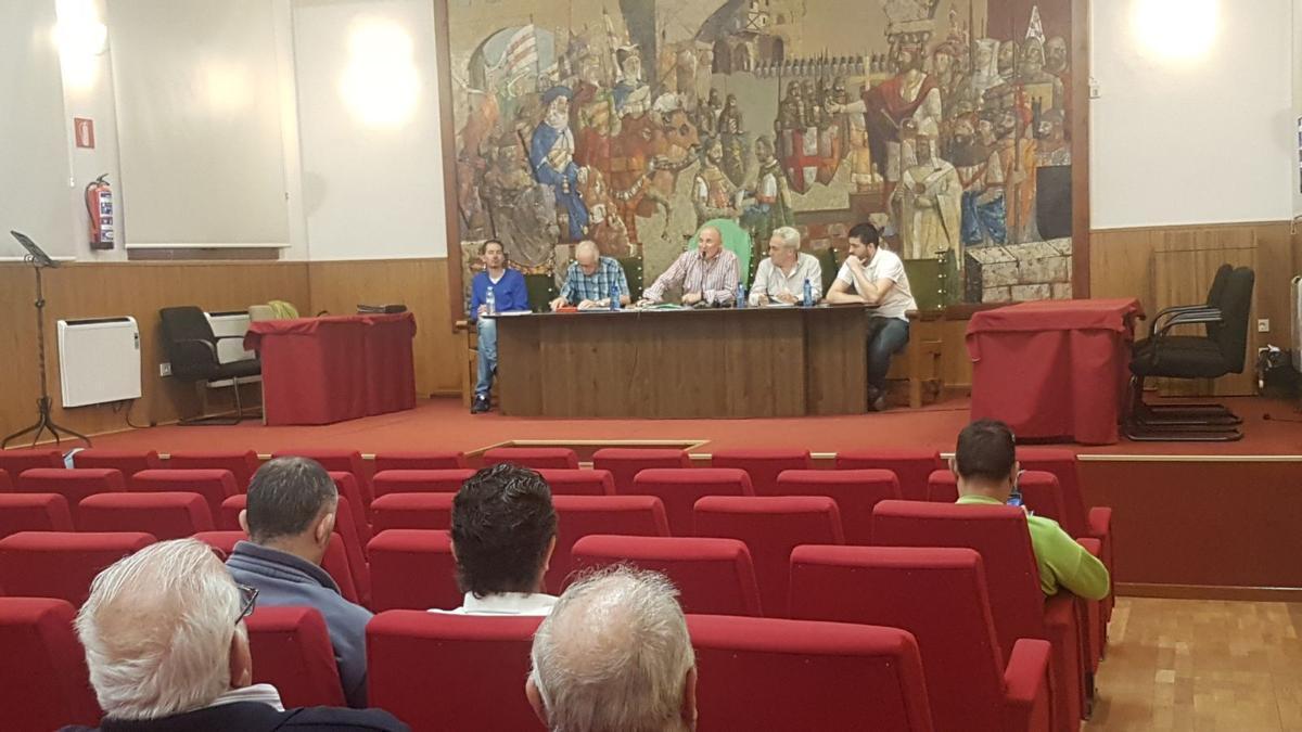 La Junta Directiva preside la Asamblea