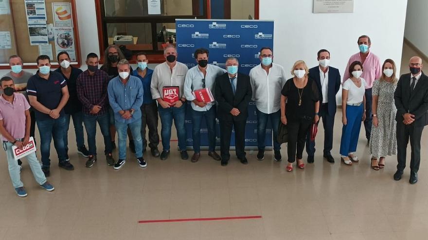 Acuerdo en el convenio del metal, que afecta a 1.500 empresas y 10.000 trabajadores en la provincia
