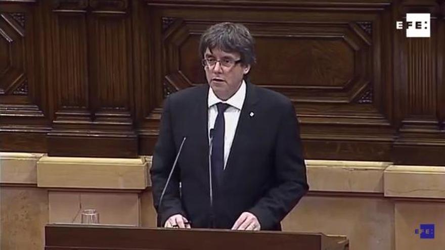 España y Cataluña, pendientes de Puigdemont