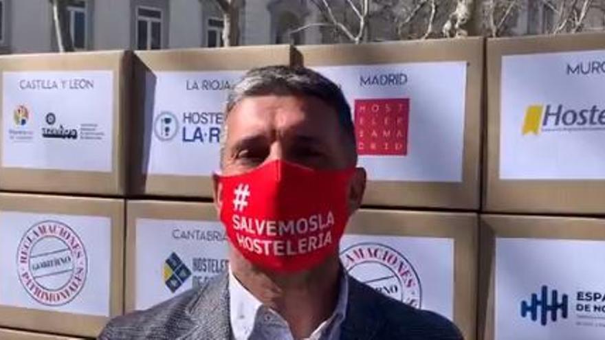 Hostemur se suma a las protestas de la hostelería en Madrid