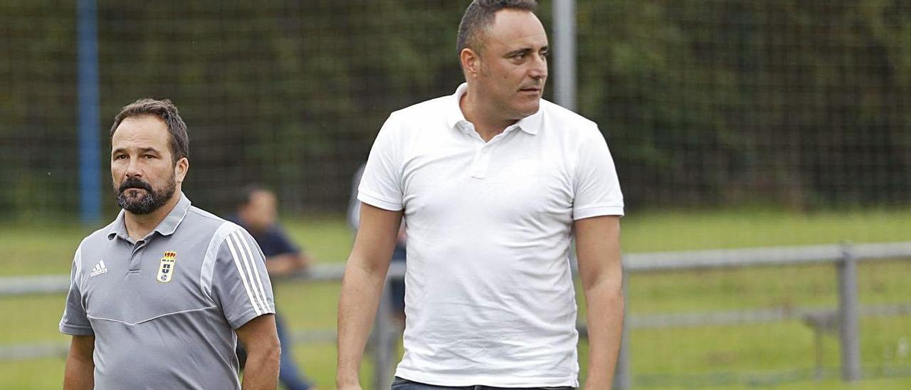 Emilio Cañedo y Mario Prieto, en una imagen de archivo. | Luisma Murias