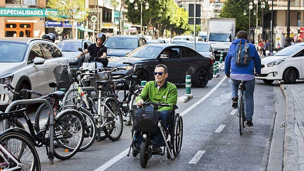 La Conselleria de Obras Públicas apuesta por la movilidad multimodal.