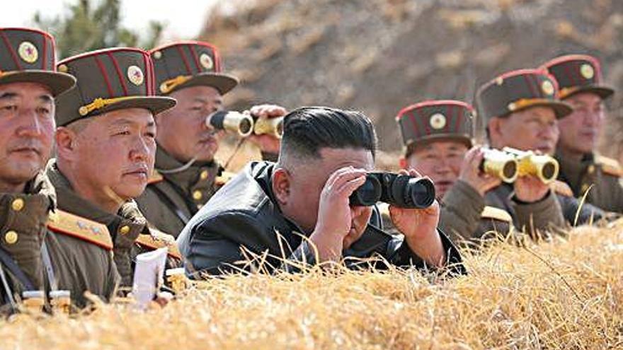 Tercera prova amb armes a Corea del Nord en un mes