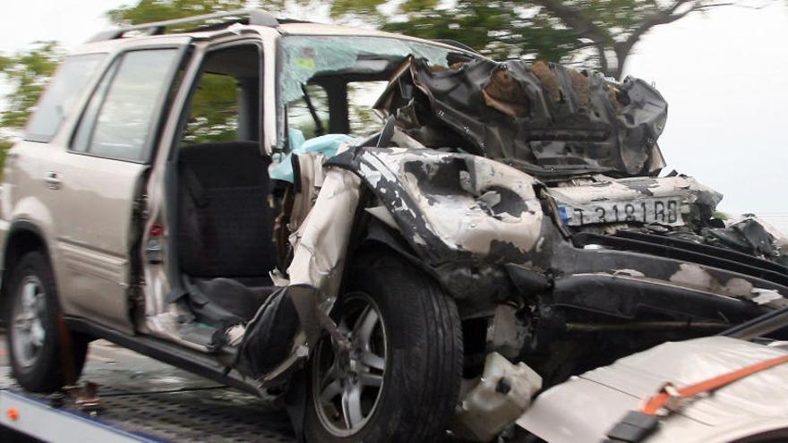 Cinco muertos en Salou tras chocar un turismo con un bus