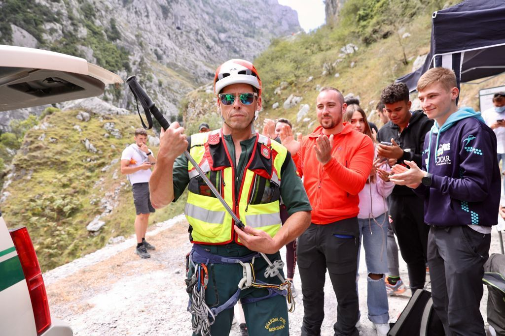 Así vivió el rescate la familia de los montañeros cántabros desaparecidos en los Picos de Europa